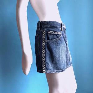 72fc3dc08 Isabel Marant Skirts - Isabel Marant Etoile Dark Denim Mini Skirt 38 US 6